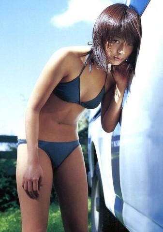 相武紗季の紺色